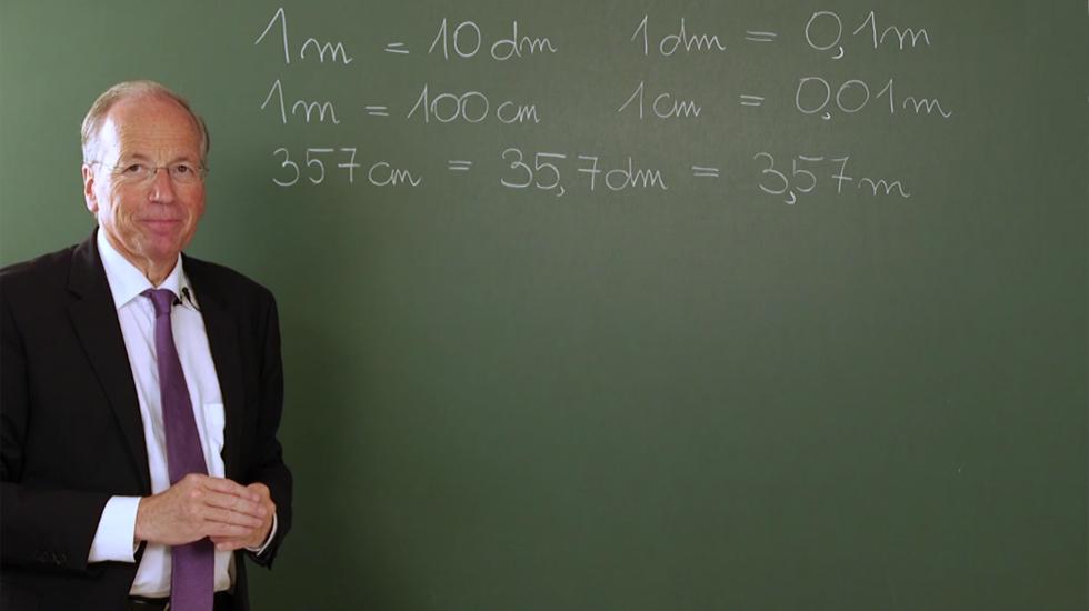 Prof. Rudolf Taschner und die Dezimalzahlen