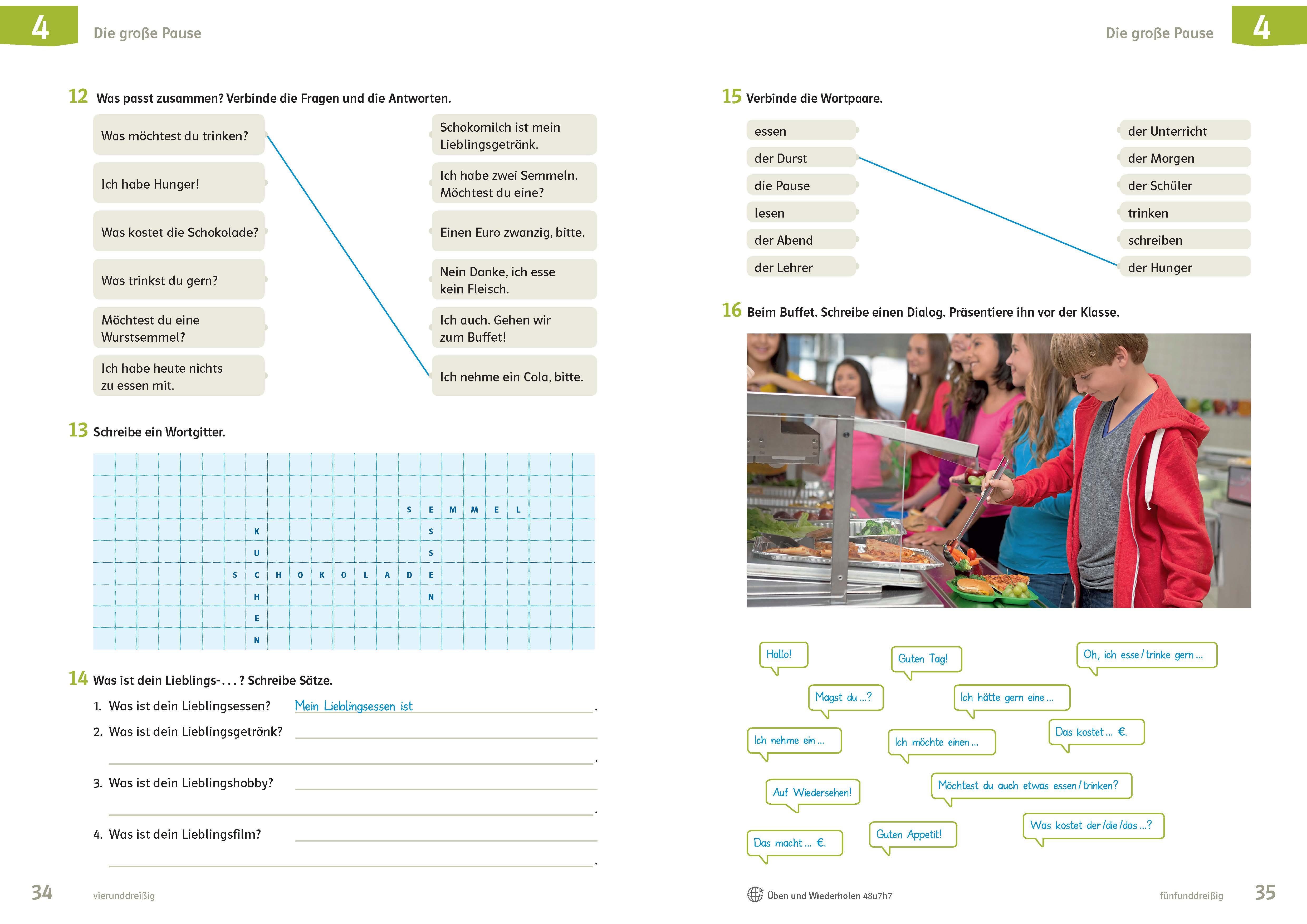 Startknopf Deutsch für den DaZ Unterricht