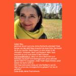 Antonwelt Postkarte als Einladung